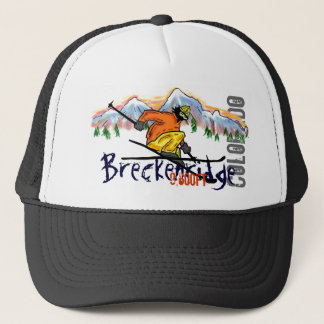 Breckenridge Colorado ski elevation hat