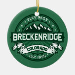 Breckenridge Forest Christmas Tree Ornament