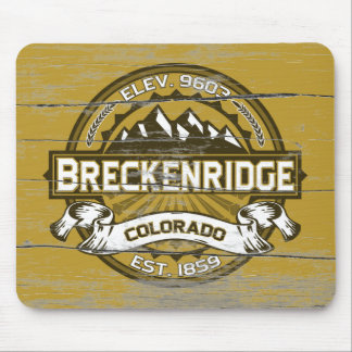 Breckenridge Gold Old Paint Mouse Pad