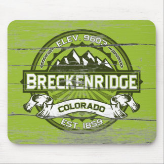 Breckenridge Green Old Paint Mouse Pad
