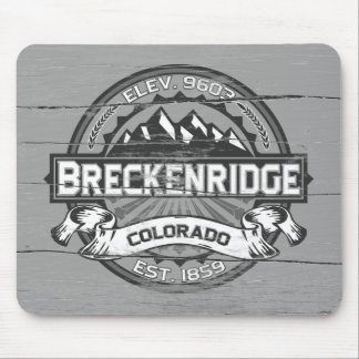 Breckenridge Grey Old Paint Mouse Pad