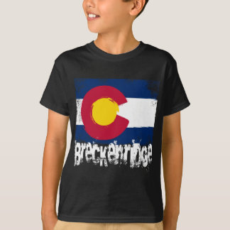 Breckenridge Grunge Flag T-Shirt