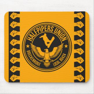 Breckenridge Halfpipers Union Gold Mouse Pad