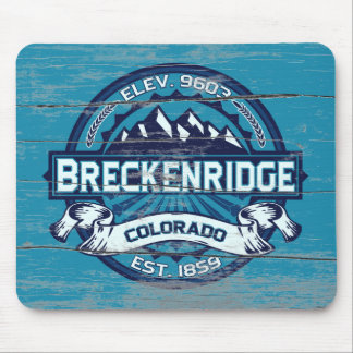 Breckenridge Ice Old Paint Mouse Pad