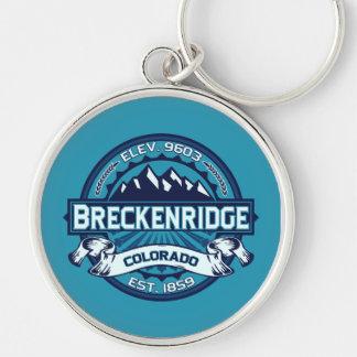 Breckenridge Logo Color Keychain