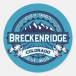 Breckenridge Logo Color Sticker