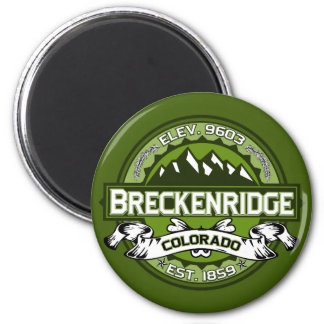 Breckenridge Logo Magnet