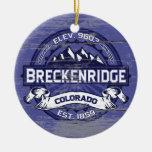 Breckenridge Midnight Old Paint Ceramic Ornament