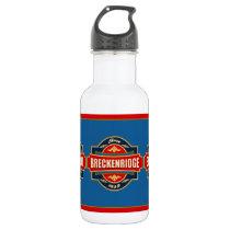 Breckenridge Old Label Stainless Steel Water Bottle