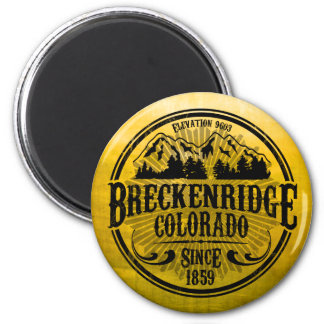 Breckenridge Old Radial Black Magnet