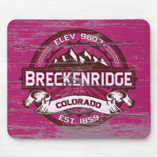 Breckenridge Raspberry Old Paint Mouse Pad
