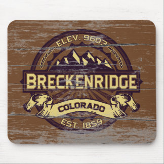 Breckenridge Sepia Old Paint Mouse Pad