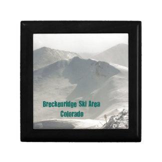 Breckenridge Ski Area, CO Jewelry Box