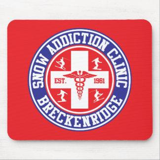 Breckenridge Snow Addiction Clinic Mouse Pad