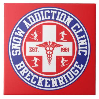 Breckenridge Snow Addiction Clinic Tile