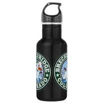 Breckenridge Snowman Circle Liberty 32 Water Bottle