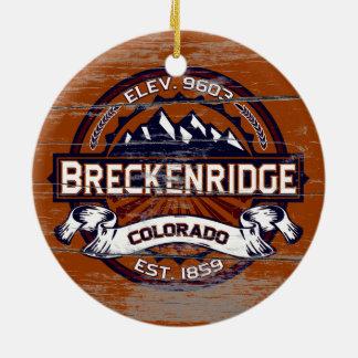 Breckenridge Vibrant Old Paint Christmas Ornament