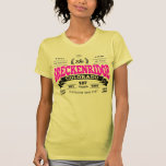 Breckenridge Vintage Raspberry Black T-shirt