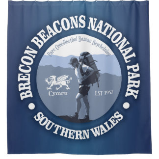 Brecon Beacons NP Shower Curtain