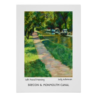Brecon & Monmouth Canal Print/Poster. print