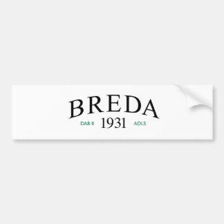 Breda - Dunkirk Little Ship 1940 Car Bumper Sticker