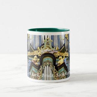 Breda Grote Kerk organ, closeup Two-Tone Coffee Mug