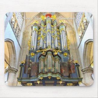 Breda Grote Kerk pipe organ mousepad