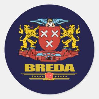 Breda Pegatina Redonda