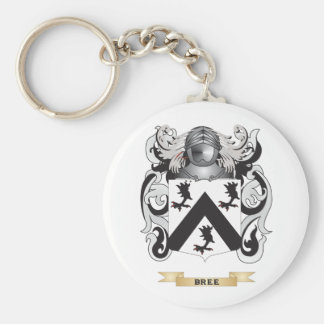 Bree Coat of Arms (Family Crest) Basic Round Button Keychain