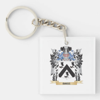 Bree Coat of Arms - Family Crest Single-Sided Square Acrylic Keychain