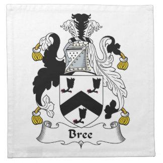 Bree Family Crest Cloth Napkins