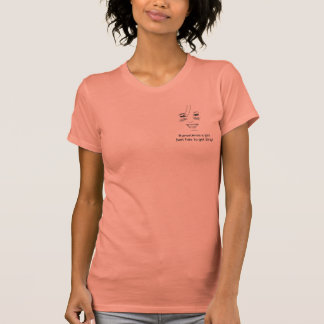 Bree Logo -a girl has to get dirty - plain back Tee Shirts