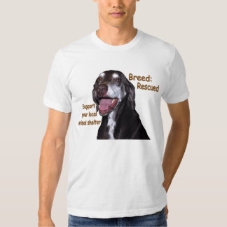 Breed Rescued T Shirt