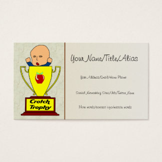 Breeder Award Business Card