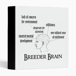Breeder Brain 3 Ring Binder