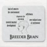 Breeder Brain Mouse Pads