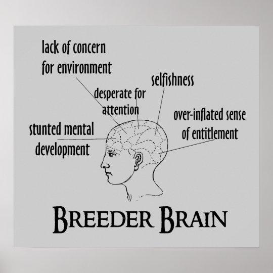 Breeder Brain Poster