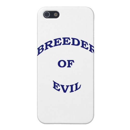 Breeder of Evil iPhone SE/5/5s Cover