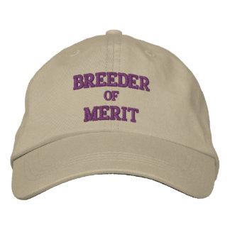 BREEDER of MERIT Embroidered Baseball Caps