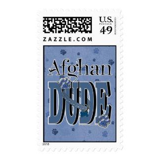 BreedsPaperBlue, DUDEAfghan Postage