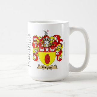 Breen Family Coat of Arms Coffee Mug