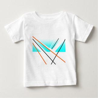 Breeze Abstract Harbour Minimalist Landscape Blue Baby T-Shirt
