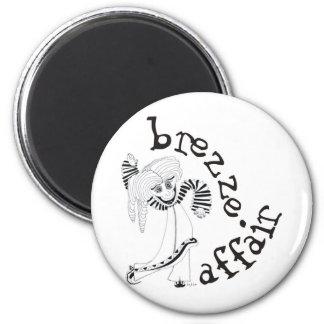 Breeze Affair 2 Inch Round Magnet