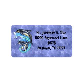Breeze & Brine Address Label