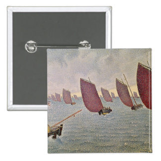 Breeze, Concarneau, 1891 Pinback Button