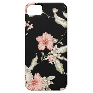 Breeze from the tropics, hibiscus print. iPhone SE/5/5s case