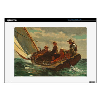 Breezing Up (A Fair Wind) 1873-76 Laptop Skins