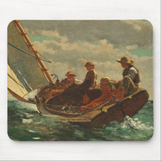 Breezing Up (A Fair Wind) 1873-76 Mouse Pad