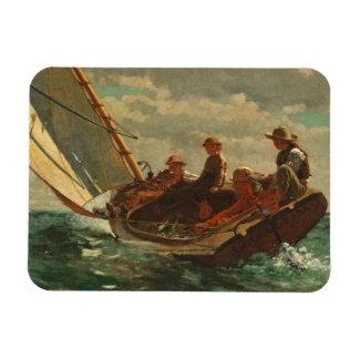 Breezing Up (A Fair Wind) 1873-76 Rectangular Photo Magnet