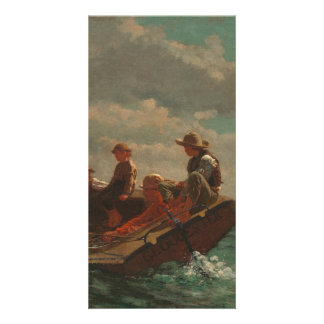 Breezing Up (A Fair Wind) by Winslow Homer Card